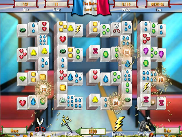 Paris Mahjong download free :: Play Brain Teaser Games